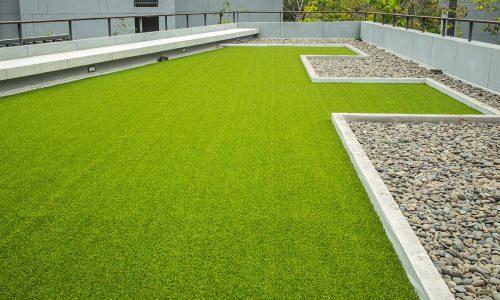 Moderná zelená strecha